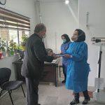 تجلیل سرپرست شهرداری آبعلی از تلاشگران شبکه بهداشت و درمان شهر آبعلی.